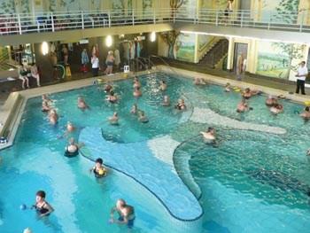 termální lázně - Německo - Bad Fussing  - termální lázně, vnitřní bazény